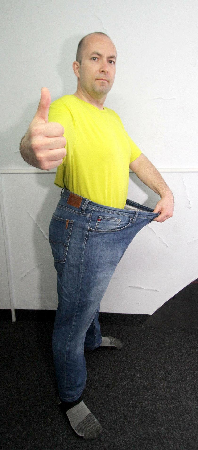 W rok schudłem 51 kg! Wyczyn Roberta Dziemby