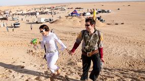 Tunezja - festiwal Elektroniczne Wydmy 2015 na pustyni w okolicach Nefty