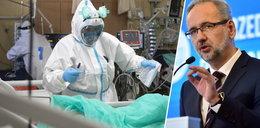 Minister zdrowia przytacza porażające dane dotyczące zgonów na COVID-19. Wspomina o odpłatności za szczepienia