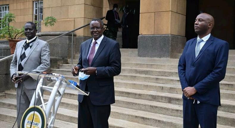 Judiciary refutes Citizen TV story on CJ Maraga's meeting with Senate Majority leader
