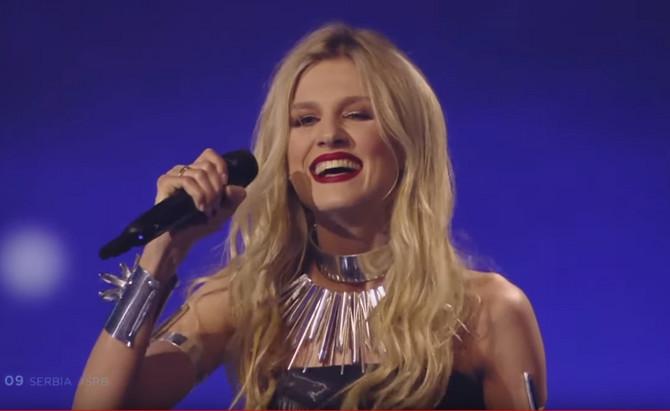 Nastup na Evroviziji završila je širokim osmehom