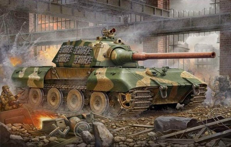 E-100 grafika koncepcyjna z gry World of Tanks