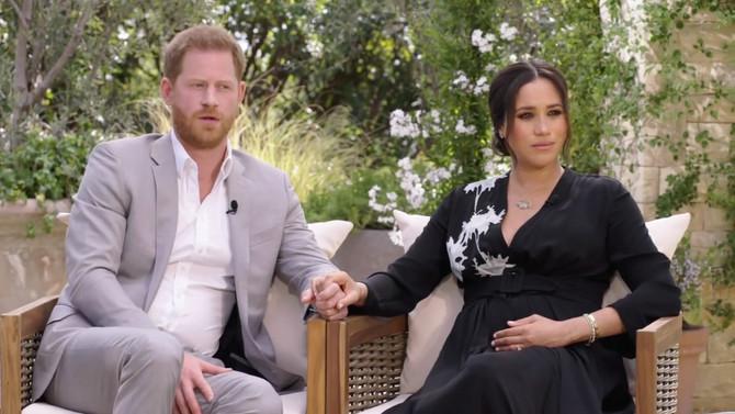 Megan Markl i princ Hari u emisiji Opre Vinfri