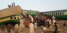 Katastrofa kolejowa w Pakistanie. Co najmniej 30 osób zginęło. Trwa akcja ratunkowa