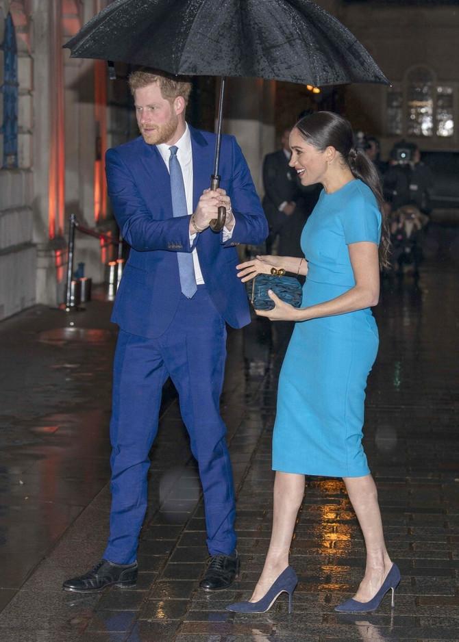 Megan i Hari prošlog četvrtka u Londonu