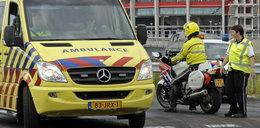 Tragiczny wypadek w Holandii. Zginął polski kierowca