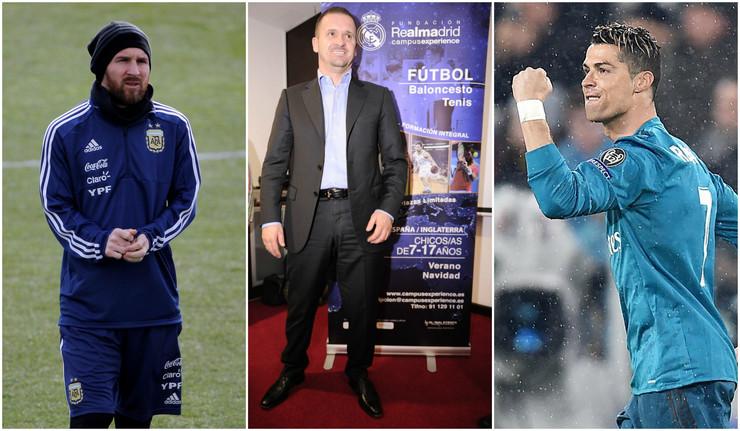 Lionel Mesi, Predrag Mijatović, Kristijano Ronaldo