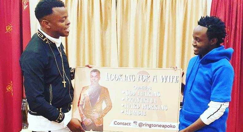Ringtone with Bahati (Instagram)