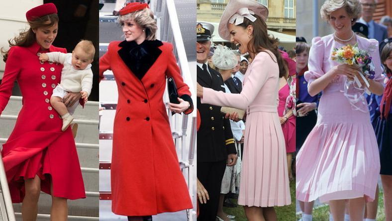 Kate Middleton vs Diana Spencer