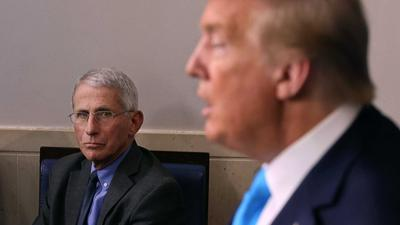 The White House stepped up its campaign against Dr. Fauci, circulating a list of 'mistakes' on COVID-19 in an attempt to discredit him