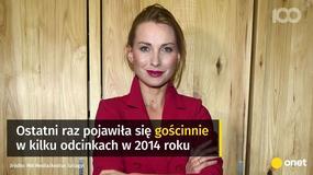 """Gwiazda """"Barw szczęścia"""" wraca do serialu. Zastąpi Katarzynę Zielińską?"""