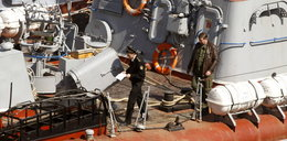 Rosjanie szturmują ukraiński okręt!