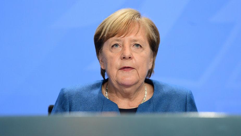Koronawirus. Niemcy: Angela Merkel ogłosiła częściowy lockdown kraju