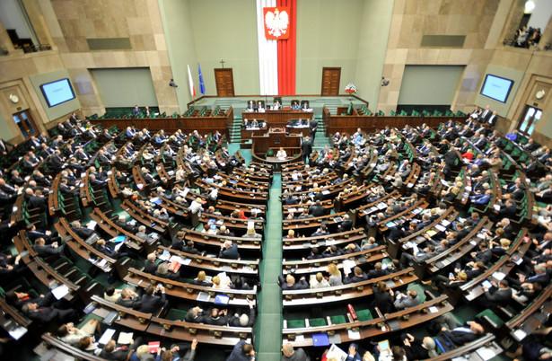 Posiedzenie Sejmu. Fot. PAP/Bartłomiej Zborowski