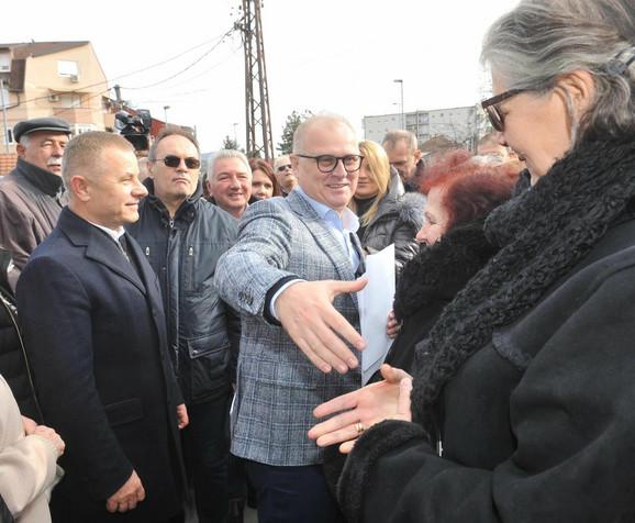 Goran Vesić u Rakovici