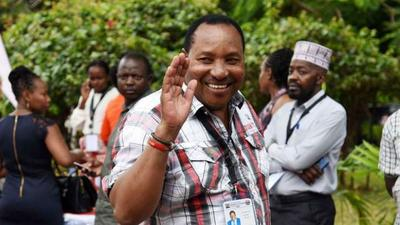 Waititu confuses NTV journalist with complicated BBI stand during live interview