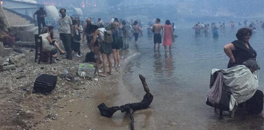 Stracił żonę i syna w pożarze w Grecji. Przerażająca relacja Polaka