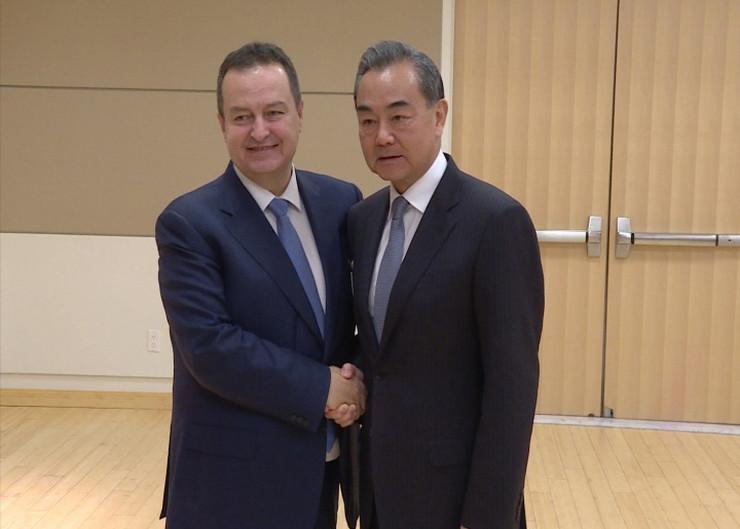 Ivica Dačić i Vang Ji Njujork Tanjug Ministarstvo spoljnih poslova