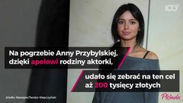 Wzruszający wpis mamy Anny Przybylskiej
