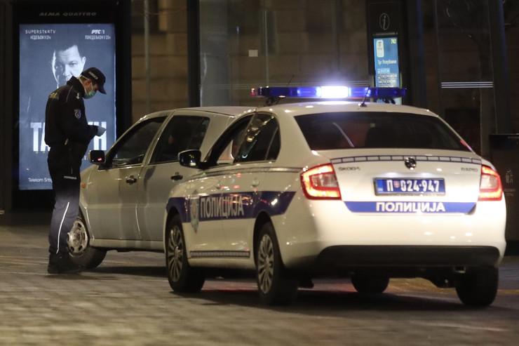 Policijski čas, Beograd