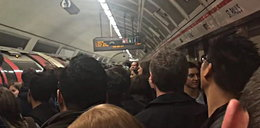 Bójka w metrze wywołała panikę. Pasażerowie myśleli, że to atak terrorystyczny