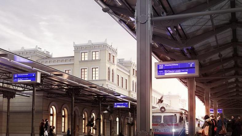 """Stary dworzec w Bydgoszczy legł w gruzach, nowy już powstaje. Budynek """"A"""" będzie liczył docelowo cztery kondygnacje, a znajdzie się tam miejsce także na aptekę, sklepy i punkty gastronomiczne."""
