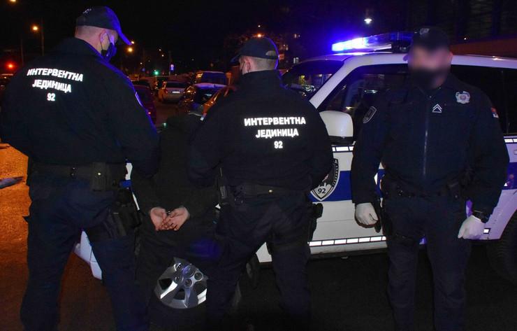Policija interventna hapšenje MUP Srbije