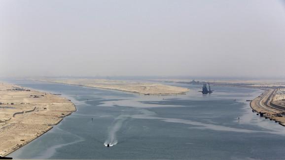 Proširenje Sueckog kanala omogućiće istovremenu dvosmernu plovidbu