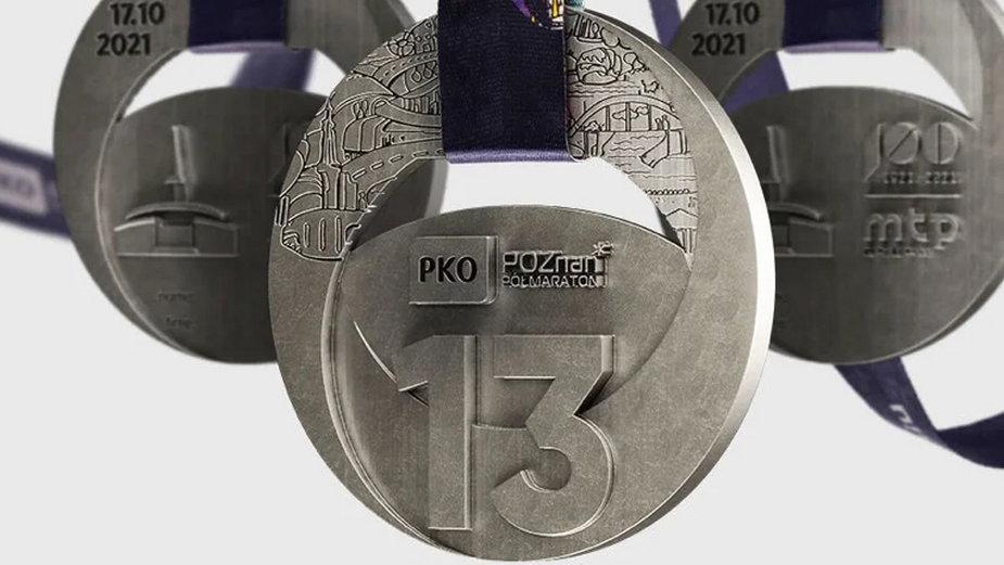 Medal 13. PKO Poznań Półmaratonu