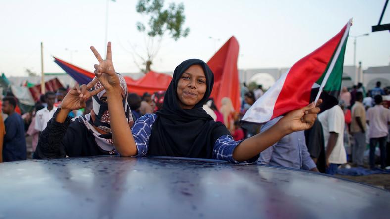 Protesty w Sudanie