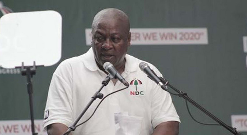 Don't fall for Nana Addo's '419' sod-cutting spree - Mahama advises Ghanaians