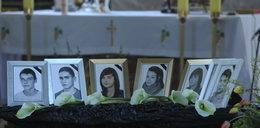 Pogrzeb czterech ofiar wypadku pod Chełmnem