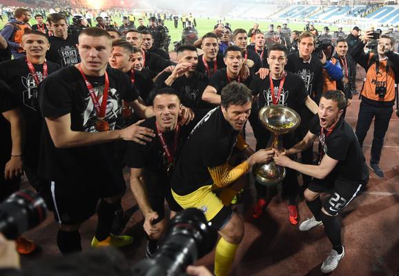 Fudbaleri Partizana su prošle sezone osvojili Kup Srbije
