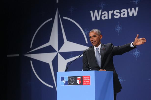Barack Obama na szczycie NATO