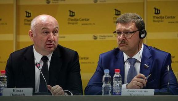 Nenad Popović i Konstantin Kosačov