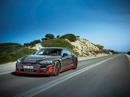 Audi RS e-tron GT - daleko, szybko, dobrze