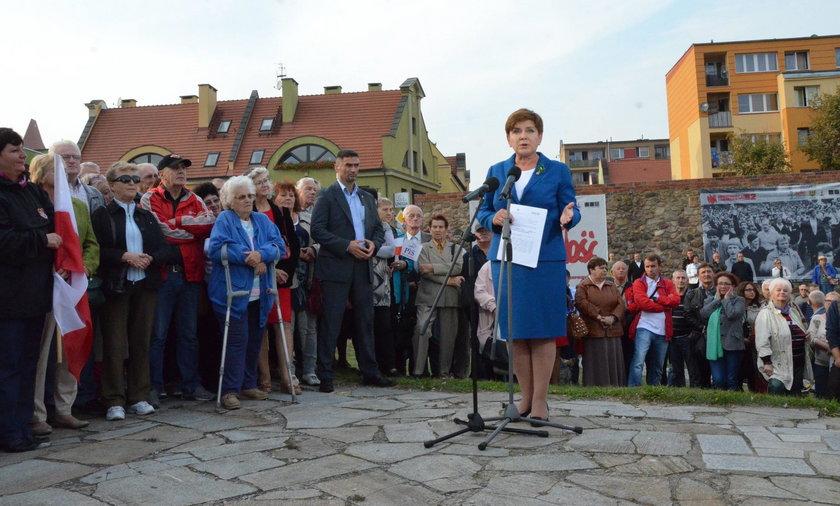 Wyborcze kłamstewko Szydło