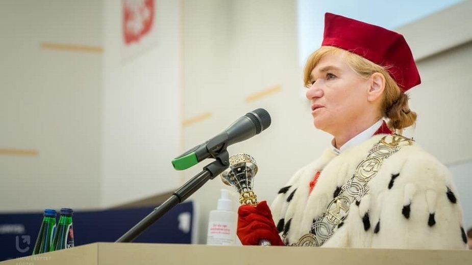 Rektor Uniwersytetu Łódzkiego - Prof. dr hab. Elżbieta Żądzińska