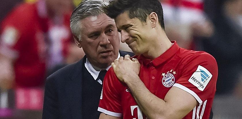 Lewandowski z ręką na temblaku. Nie zagra z Realem!?