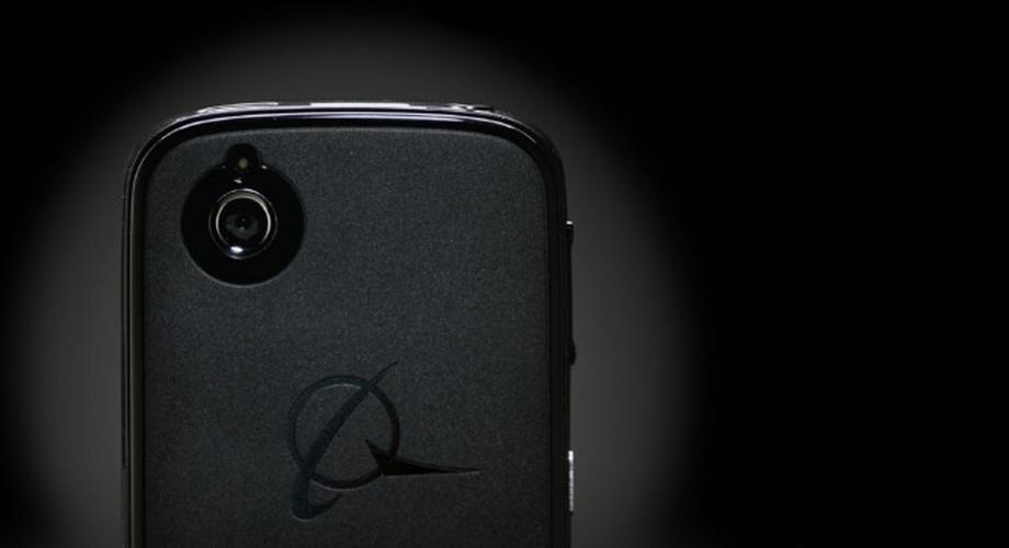 Boeing Black: Smartphone mit Selbstzerstörungsmechanismus