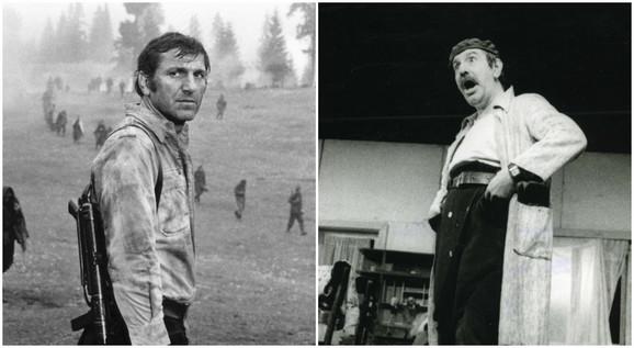 Zoran Radmilović i Velimir Bata Živojinović bili su poznati Vračarci