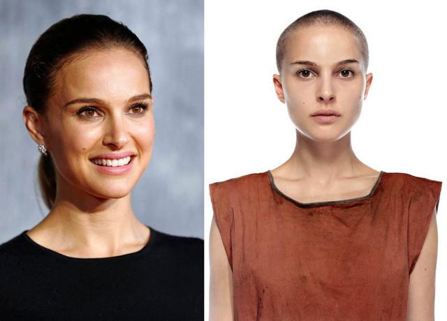 Zbog uloge u filmu morala je da se ošiša skroz kratko