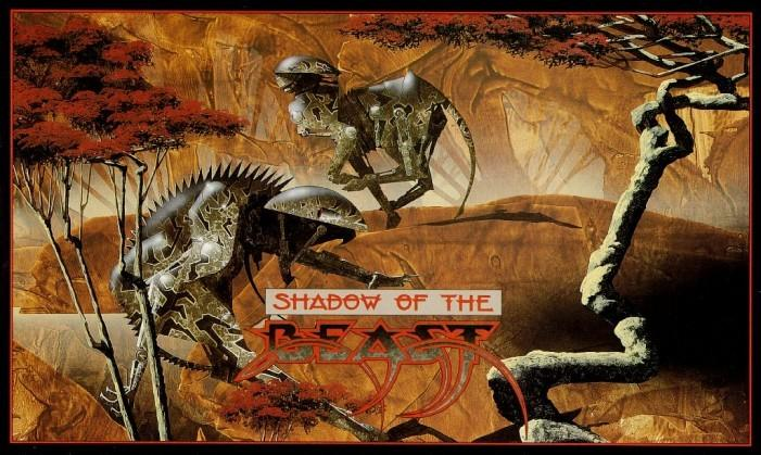 Shadow of the Beast - okładka