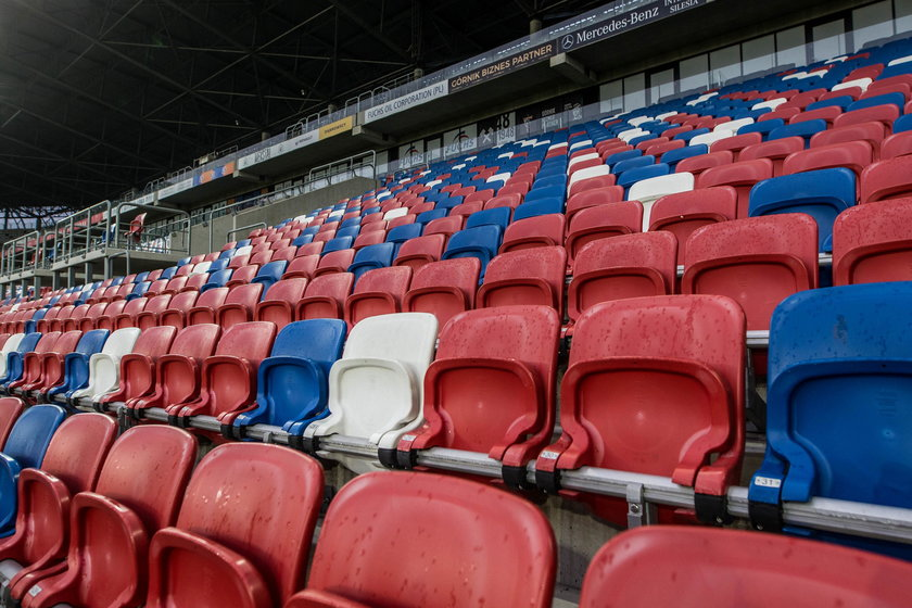 Śląskie stadiony częściowo otwarte