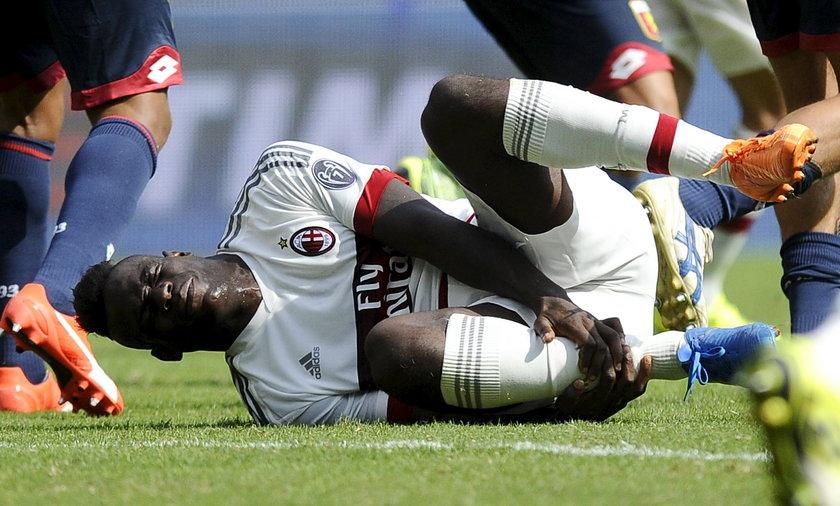 Mario Balotelli musiał poddać się operacji