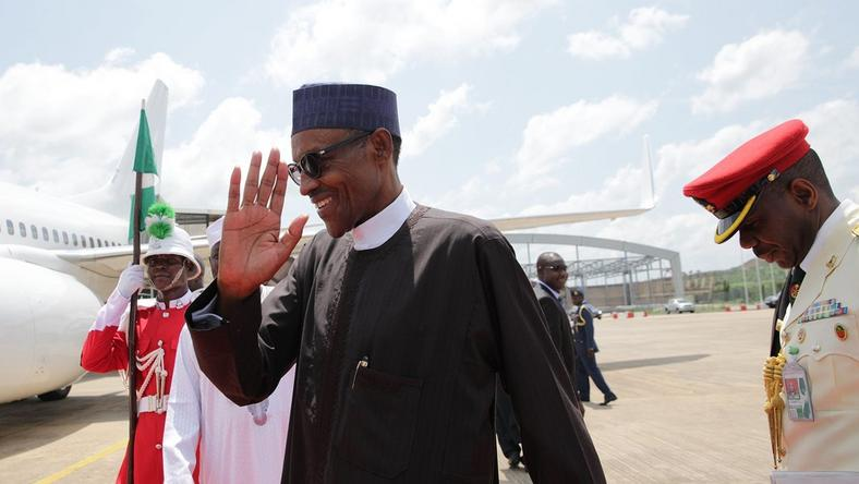 President Muhammadu Buhari leaves Nigeria for Germany on October 13, 2016