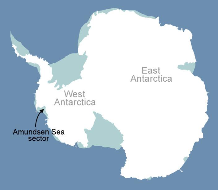Lodowce na Zachodniej Antarktydzie są najbardziej zagrożone topnieniem