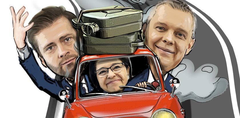 Zafundowaliśmy posłom paliwo za 12 milionów złotych! Tłumaczą się, że jeżdżą tylko służbowo