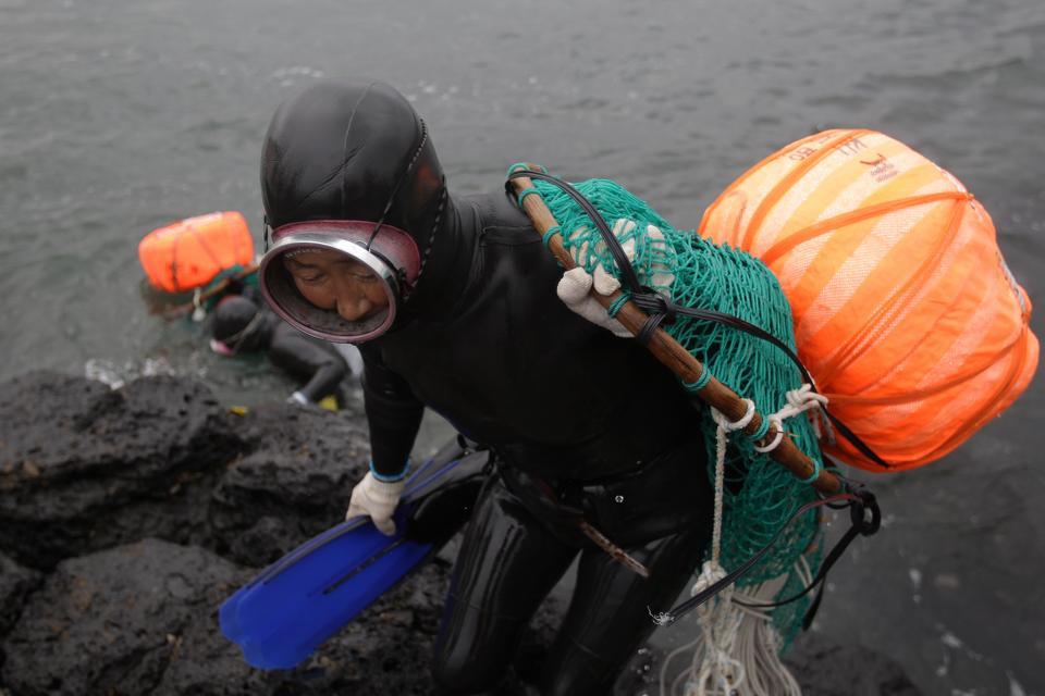 Haenyeo, morskie kobiety Czedżu