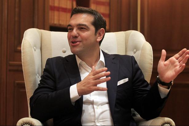 Syriza otrzymała w niedzielnych wyborach 35,5 proc. głosów
